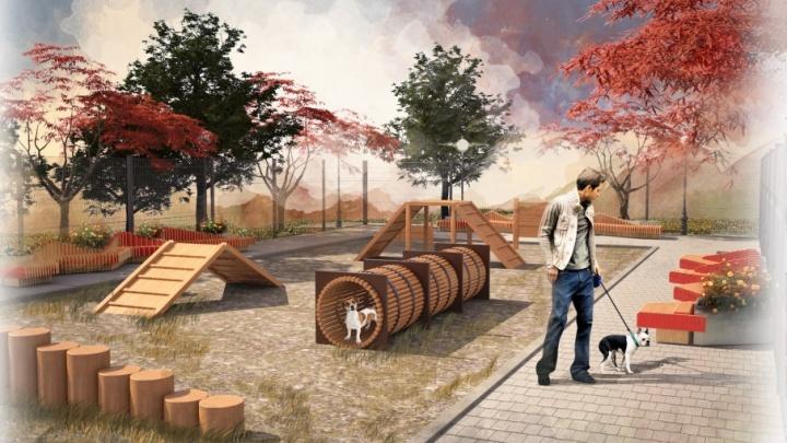 Сцены и зона для игр с собаками: в Челябинске определились с проектами ремонта парков и скверов