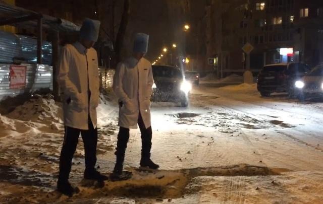 Лучше оригинала: студенты СГМУ высмеяли дороги Поморья в видеопародии на хит группы «Грибы»