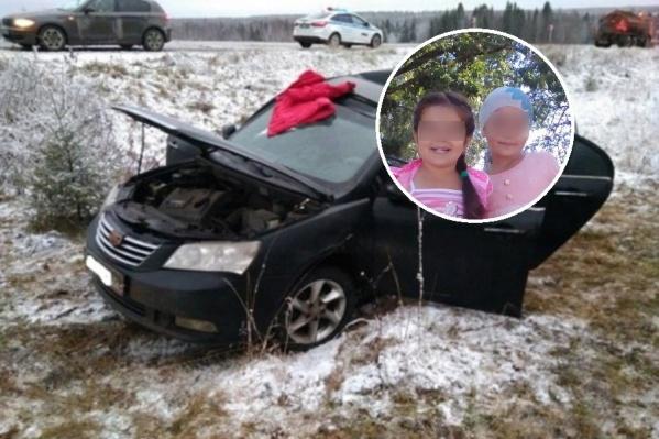 28-летняя многодетная мать и две ее дочери погибли на прикамской трассе