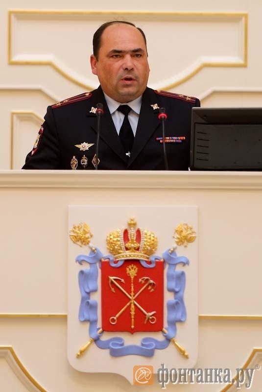 Заместитель начальника ГУ МВД по Петербургу, начальник полиции Константин Власов