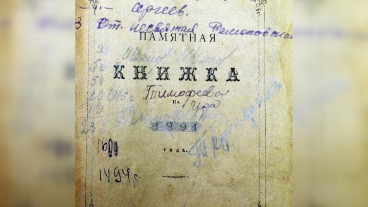 Пермский историк выяснит, принадлежали ли хранящиеся в Тюменской области дневники князю Романову