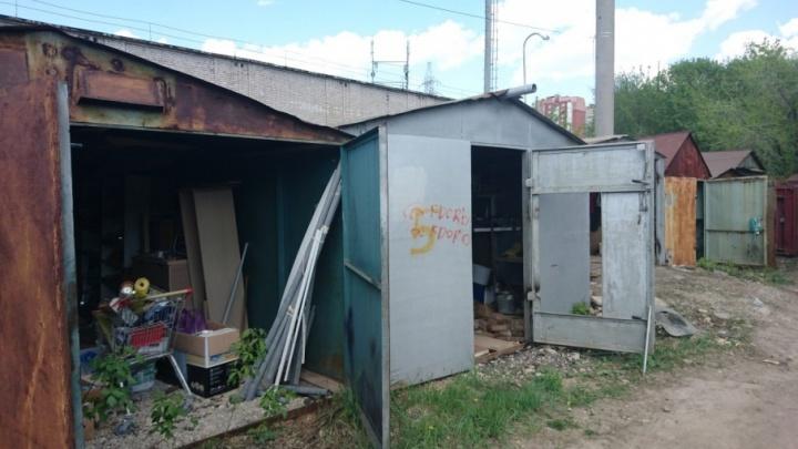 В снесенных на 5-й просеке гаражах в Самаре нашли предметы, похожие на патроны