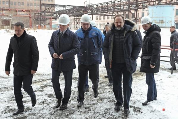 Глава Минприроды лично побывал на челябинских предприятиях-загрязнителях