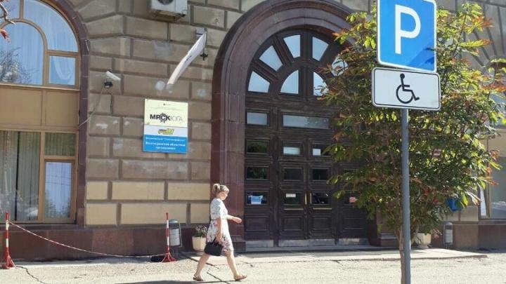 У волгоградских чиновников в центре города земля уходит из-под ног
