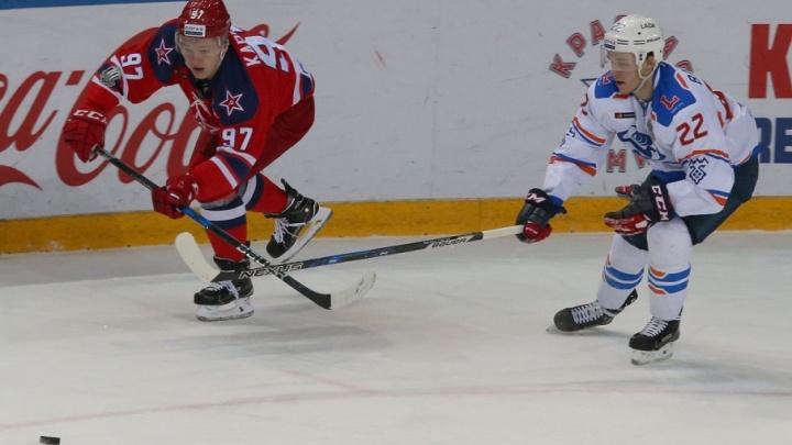 «Мне не в чем упрекнуть ребят»: хоккеисты «Лады» уступили ЦСКА