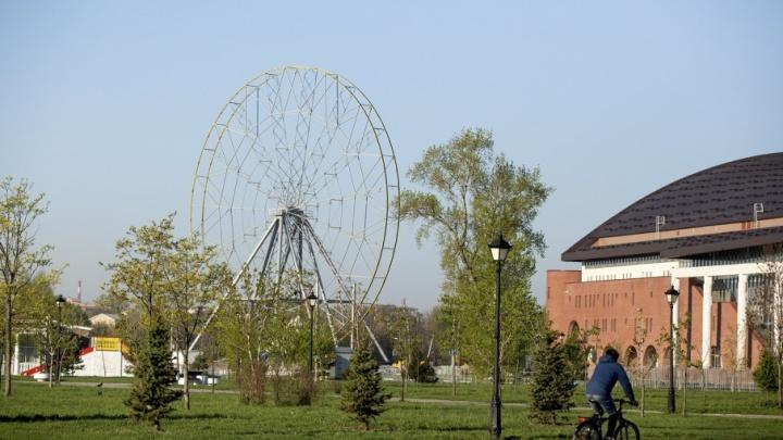 Мэр рассказал, когда ярославцев пустят на колесо обозрения