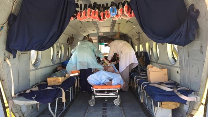 Врачи Центра медицины катастроф за год спасли более тысячи тяжёлобольных тюменцев