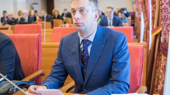 Взятка в 1,4 миллиона рублей: в отношении депутата облдумы Павла Дыбина возбудили уголовное дело