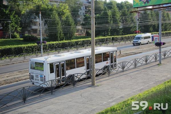 Автобусы возвращаются на Северную дамбу
