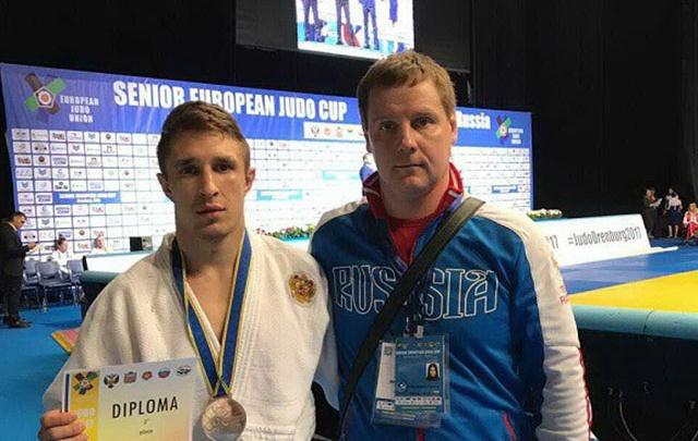 Челябинец Александр Куликовских взял серебро на Кубке Европы по дзюдо