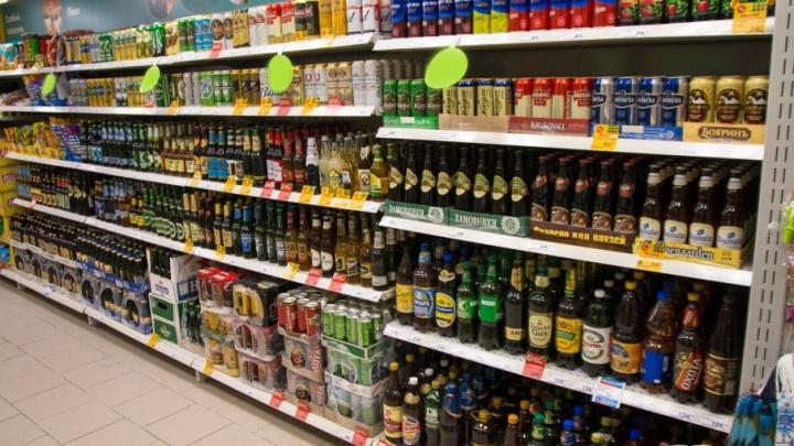 Продавать алкоголь в стеклянной таре запретят в Самаре с 16 июня