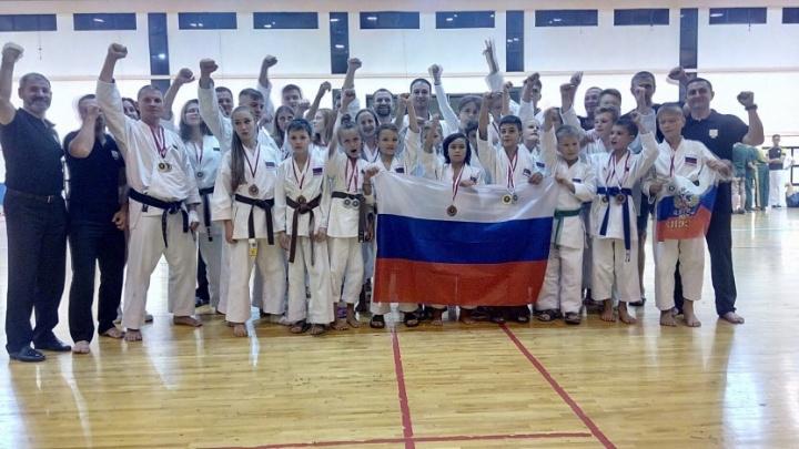 Северодвинцы завоевали пять медалей на Кубке мира по каратэномичи