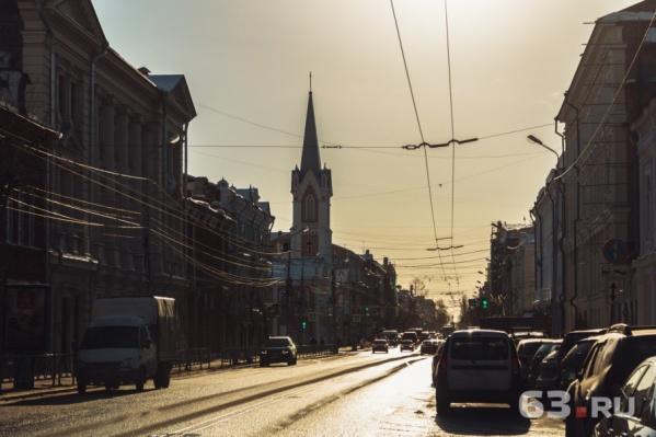 Улицу Куйбышева отреставрировали к мундиалю