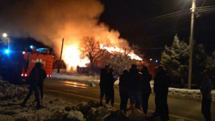 В Заводоуковске во время пожара погибли два пенсионера