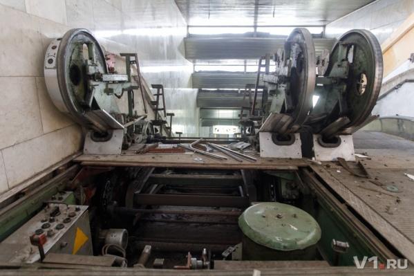 Демонтаж старого оборудования на «Пионерской» завершится в апреле