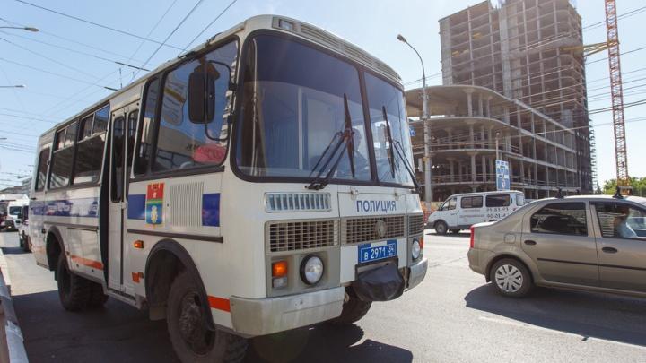 Полиция Волгограда заявила о задержании участников незаконного шествия