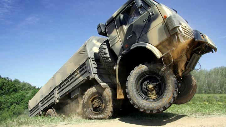 Военные КАМАЗы проверят на прочность дороги Волгограда