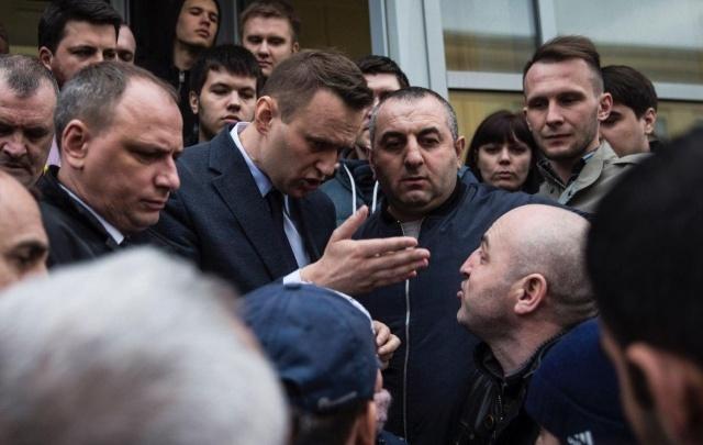 Алексей Навальный рассказал о драке в Волгограде