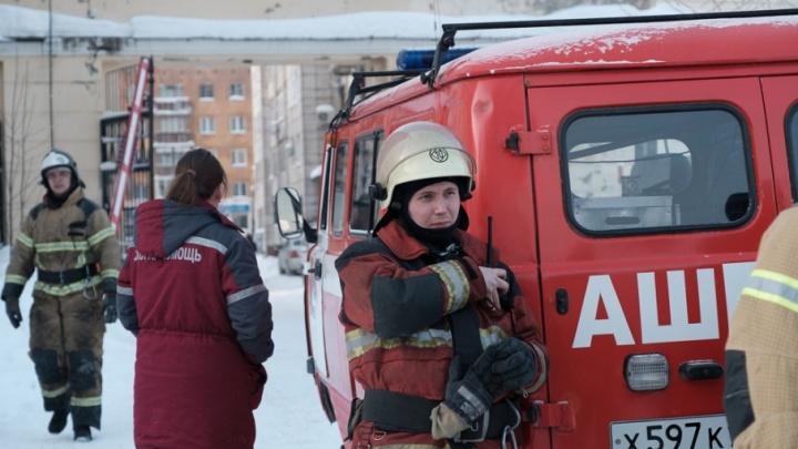 В Нытве из-за пожара эвакуировали жителей пятиэтажного дома