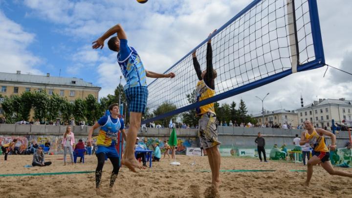 Победители всероссийских соревнований приедут на архангельский Фестиваль пляжного волейбола