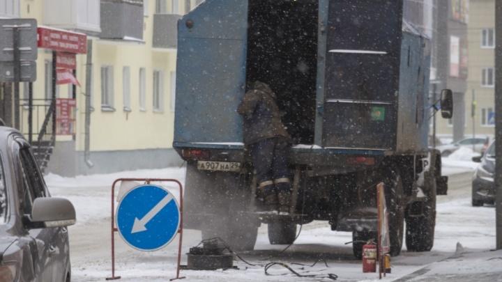 Воду и электричество отключат в Архангельске до конца рабочего дня