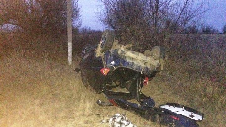 Перевертыш в кювете: водитель бросил раненую пассажирку на месте ДТП в Кинельском районе