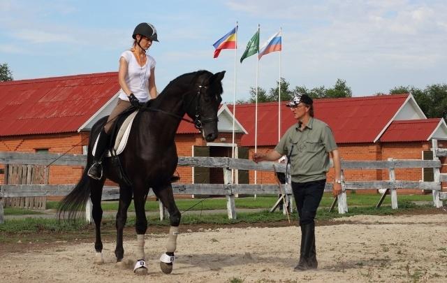 В Садах Придонья раскрыл секреты мастерства тренер по конному спорту
