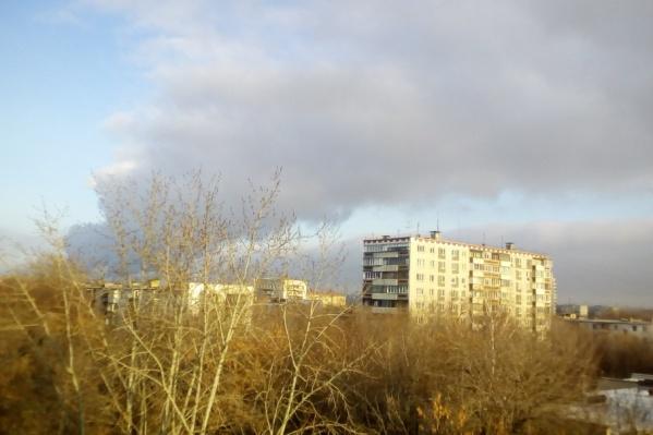 В Челябинске сохраняются неблагоприятные метеоусловия