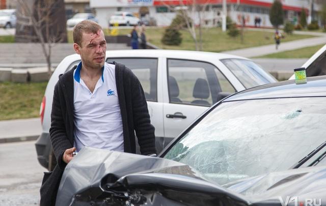 Волгоградец заснул за рулем новой Audi и на встречке протаранил Niva