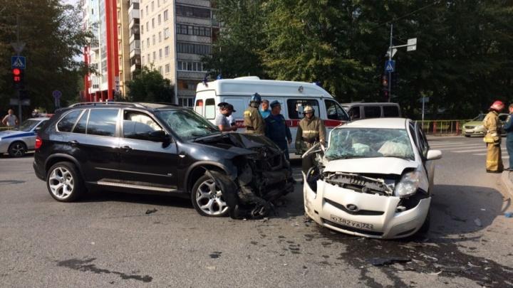 Авария на пересечении Одесской и Энергетиков: пострадали три человека