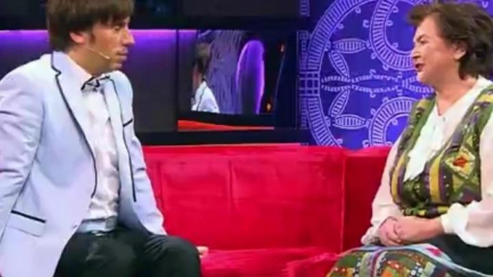 Архангелогородка Галина Полякова показала свою коллекцию лоскутных платьев на Первом канале