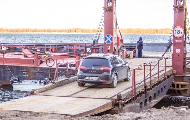 В Самаре запустили паромную переправу с Октябрьского спуска до Рождествено