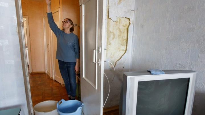 Коммунальщики и власти Волгограда 12 лет не могут устранить течь в квартире ветерана войны