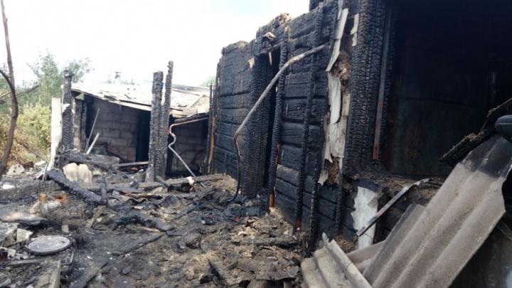 В Сызрани пожар с двумя погибшими мог произойти из-за замыкания проводки