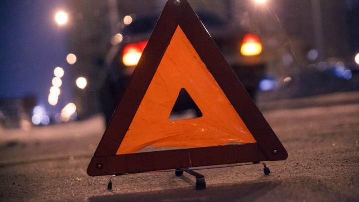 Двое маленьких детей пострадали в вечернем ДТП на Щербакова