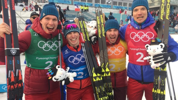 Болеем за наших на Олимпиаде: тюменские лыжники Александр Большунов и Денис Спицов побегут командный спринт