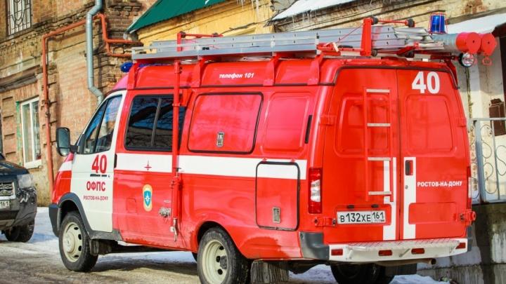 В Песчанокопском районе женщина заживо сгорела при пожаре в своем доме