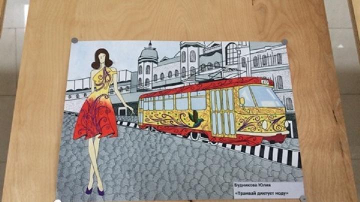В подземной галерее Волгограда показали самые модные трамваи