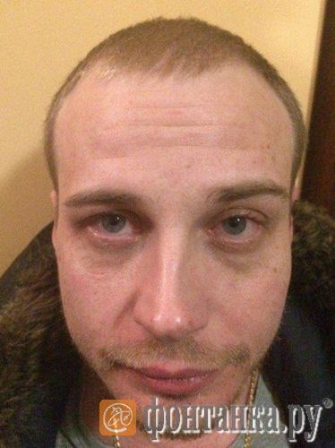 Андрей Деменков сразу после задержания