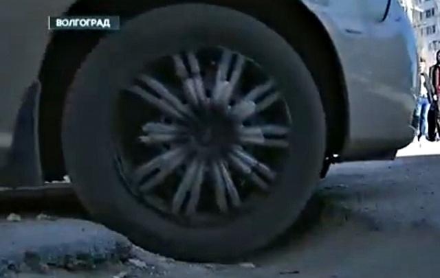 Волгоград «прославился» разбитыми дорогами на всю Россию