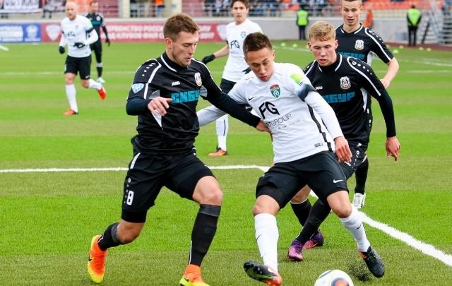 ФК «Тюмень» сыграл вничью с представителями Ленинградской области