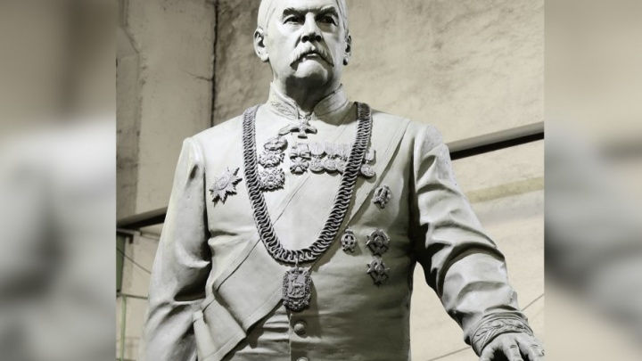 «Скульптура в бронзе ждет установки»: памятник Петру Алабину привезут в Самару к маю