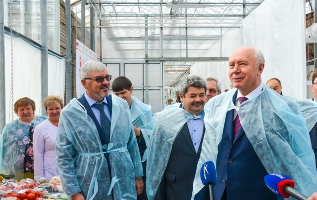 Губернатор: «Мощности тепличных хозяйств региона необходимо увеличить в два раза»