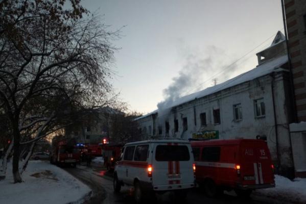 Возгорание в жилом доме произошло в районе 16 часов