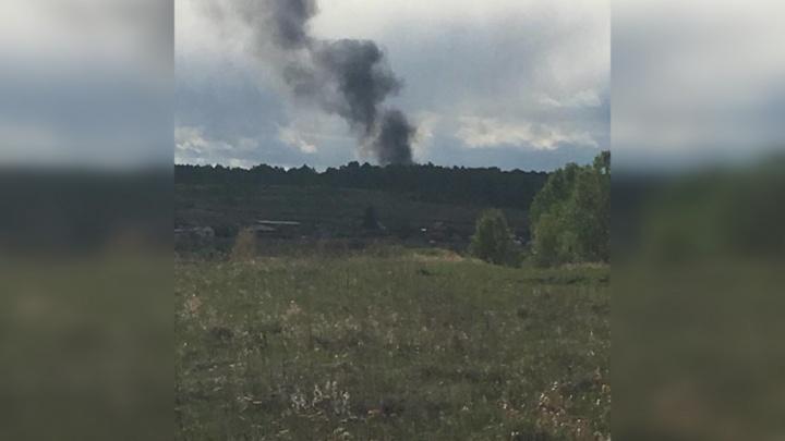 Все версии, включая поджог: причины пожара на мусорном полигоне под Челябинском выяснит полиция