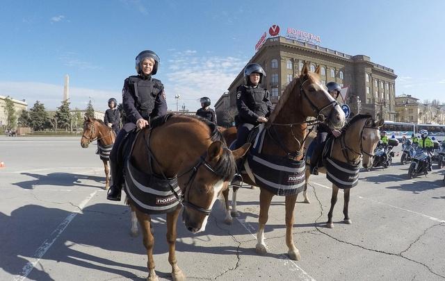 Более трех тысяч полицейских будут охранять волгоградцев во время Пасхи