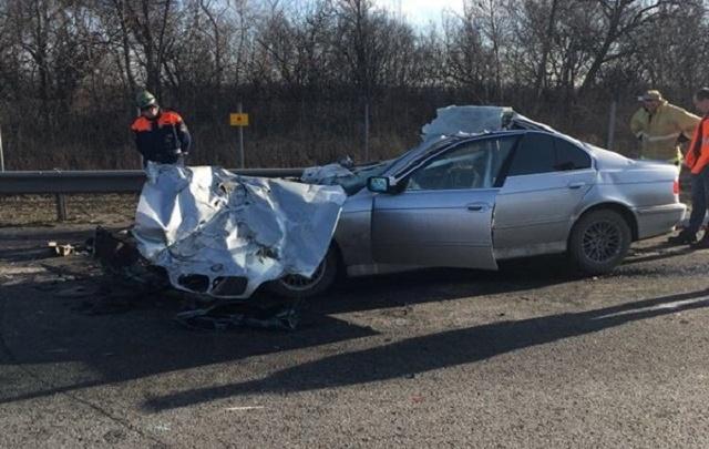 Авария в Азовском районе унесла жизнь молодых родителей