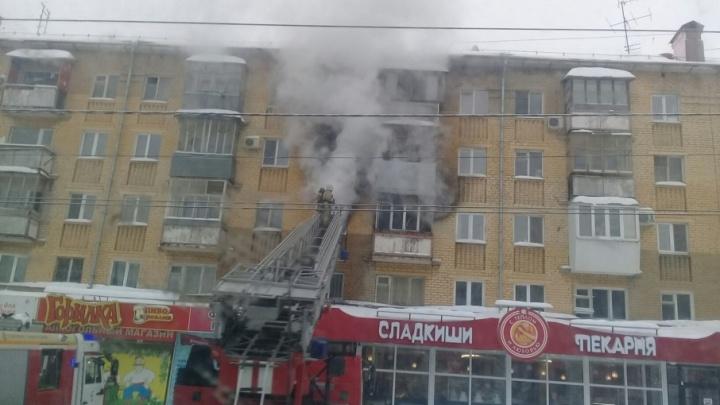 «Мы услышали хлопок, а потом пошел дым»: в доме на Стара-Загоре сгорела квартира
