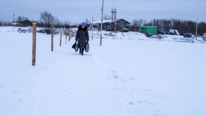 Ледовую пешеходную переправу в Маймаксанском округе оборудуют за 960 тысяч рублей