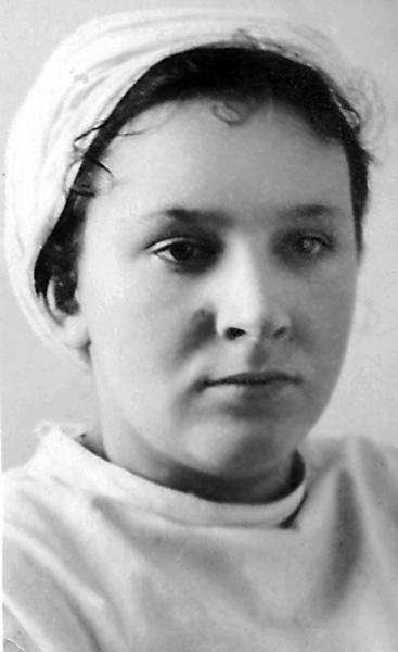 Евгения Рудник, фото 1942 года